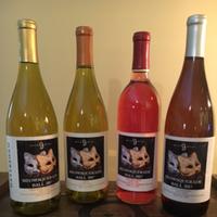 good mews custom labeled wine